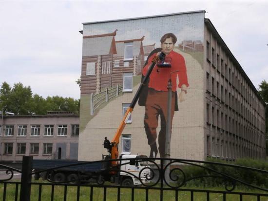 Изображение появится на глухой стене школы 51 столицы Поморья на Сульфате.