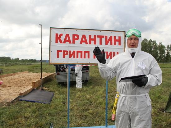Ветеринары Тальменского района показали свои навыки в краевых учениях