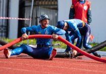 Югорчане выиграли чемпионат России по пожарно-спасательному спорту