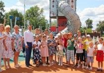 Современные детские игровые комплексы были установлены в Турове и Липицах по программе «Наше Подмосковье» губернатора региона Андрея Воробьева