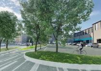В Красноярске на пересечении улиц Северной и Северо-Енисейской появится новый сквер