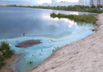 Зелено-голубые разводы в озере обеспокоили жителей Надыма