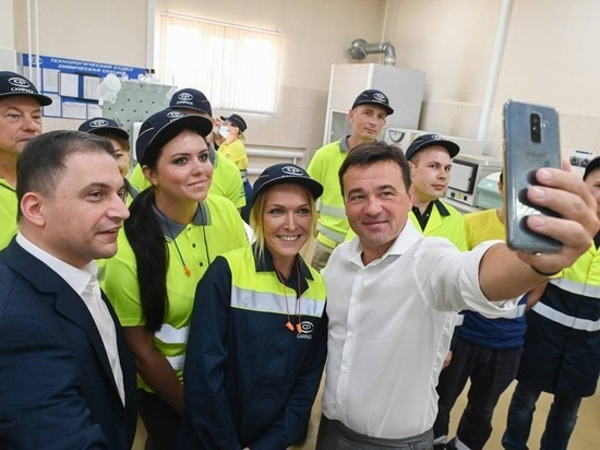 Губернатор Подмосковья Андрей Воробьёв стал лидером нового рейтинга по работе в интернете