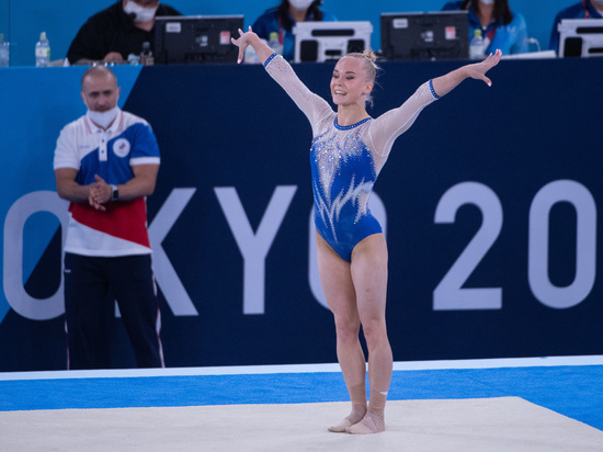 Ангелина Мельникова заняла третье место в гимнастическом многоборье