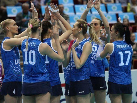 Российские волейболистки приблизились к плей-офф