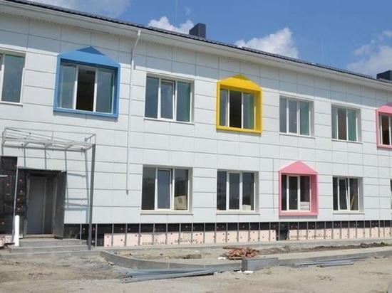Капремонт детсада «Сказка» в Борисовском районе почти завершен