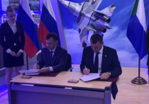 В Комсомольске-на-Амуре состоялось подписание соглашения о социально-экономическом партнерстве между правительством Хабаровского края и Объединенной авиастроительной корпорацией ПАО «ОАК»