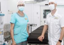 Омский НПЗ передал современное оборудование для блока экстренной хирургии детской больницы