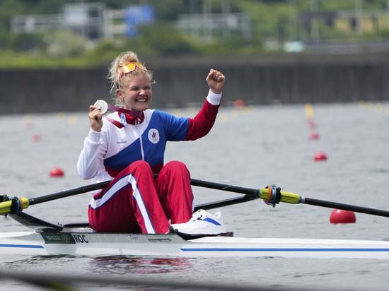 Анна Пракатень завоевала серебро в одиночной гребле