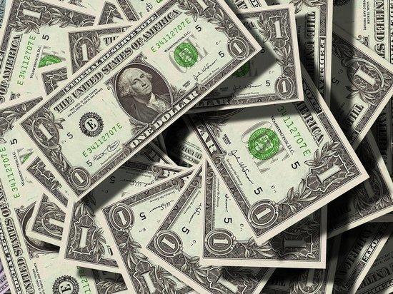 Курс доллара опустился до минимума с начала июля