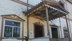 Старый дом в переулке Дьяченко в Хабаровске