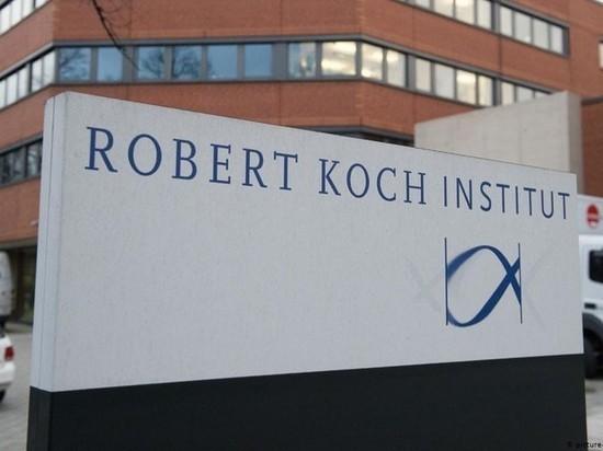 Германия: Институт Роберта Коха сегодня не опубликовал данные о заболеваемости Covid-19 на 30 июля