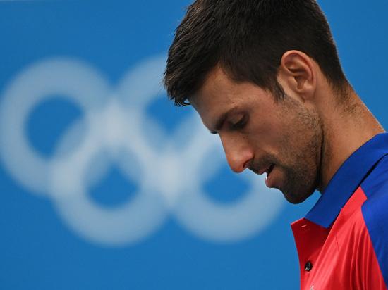Джокович проиграл в полуфинале теннисного турнира Игр