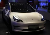 Tesla внедрила поддержку русского языка в электромобили