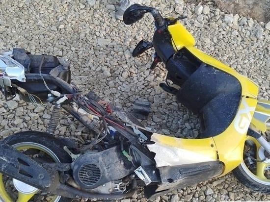 В Марий Эл водитель скутера получил тяжелые травмы в ДТП
