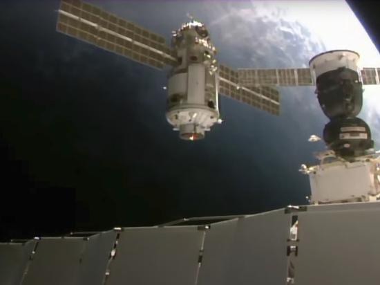 Российские космонавты перейдут в американский отсек: этого требует режим ЧС