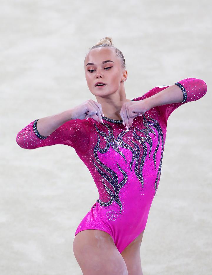 Ангелина Мельникова: «Я слышала, как мне с трибуны кричала Байлз»