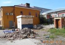В Красноярске прокуратура проверяет законность строительства во дворе исторического здания на Карла Маркса, 26