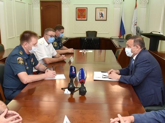 Глава Марий Эл провел рабочую встречу с замминистра МЧС России
