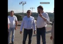 Денисов проверил ход работ по реставрации