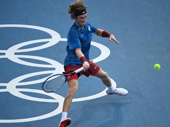 Рублев объяснил успех российских теннисистов на Олимпиаде