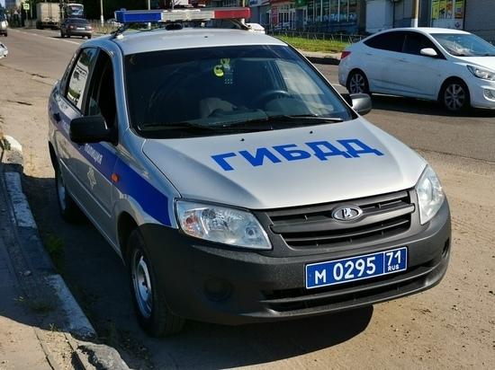 В Ясногорском районе в результате ДТП госпитализирована девушка