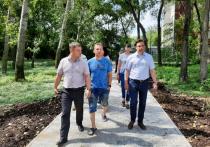 Глава Комсомольска-на-Амуре Александр Жорник проверил, как идет благоустройство общественных пространств, ремонтируемых по нацпроекту «Жилье и городская среда»