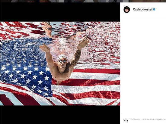Пловец из США Дрессел с мировым рекордом взял золото