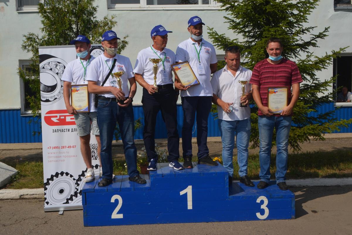 Водители автобусов ПАТП-3 — самые-самые профессиональные в Костромской области