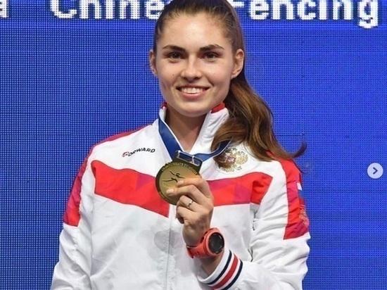 Новосибирская саблистка София Позднякова поборется за вторую медаль на Олимпиаде 31 июля