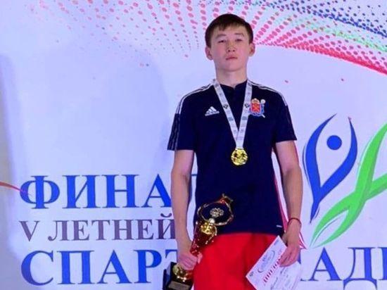 Уроженец Калмыкии стал победителем спартакиады молодежи России