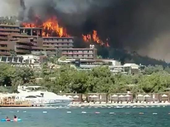 Россия направит в Турцию авиагруппировку для тушения пожаров