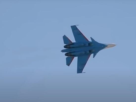 Су-35 разбился в Хабаровском крае