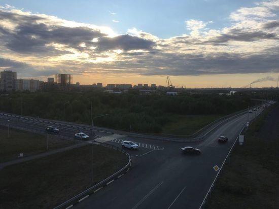 В воскресенье в Омске небольшой дождь и жарко до +27