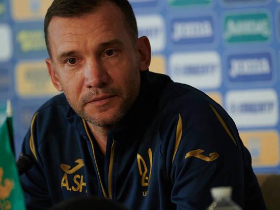 Андрей Шевченко объявил об уходе с поста главного тренера сборной Украины