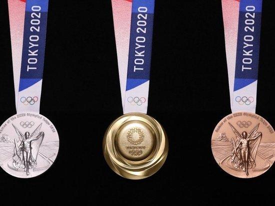 Сборная России опустилась на 5-е место медального зачета по итогам 1 августа