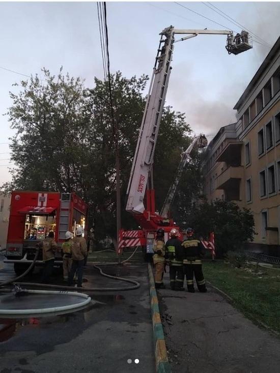Два человека госпитализированы после пожара в общежитии ПИМУ в Нижнем