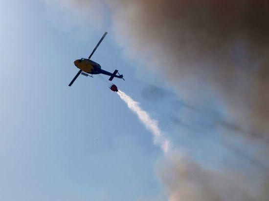 Петербургские военные помогли потушить пожары в Карелии