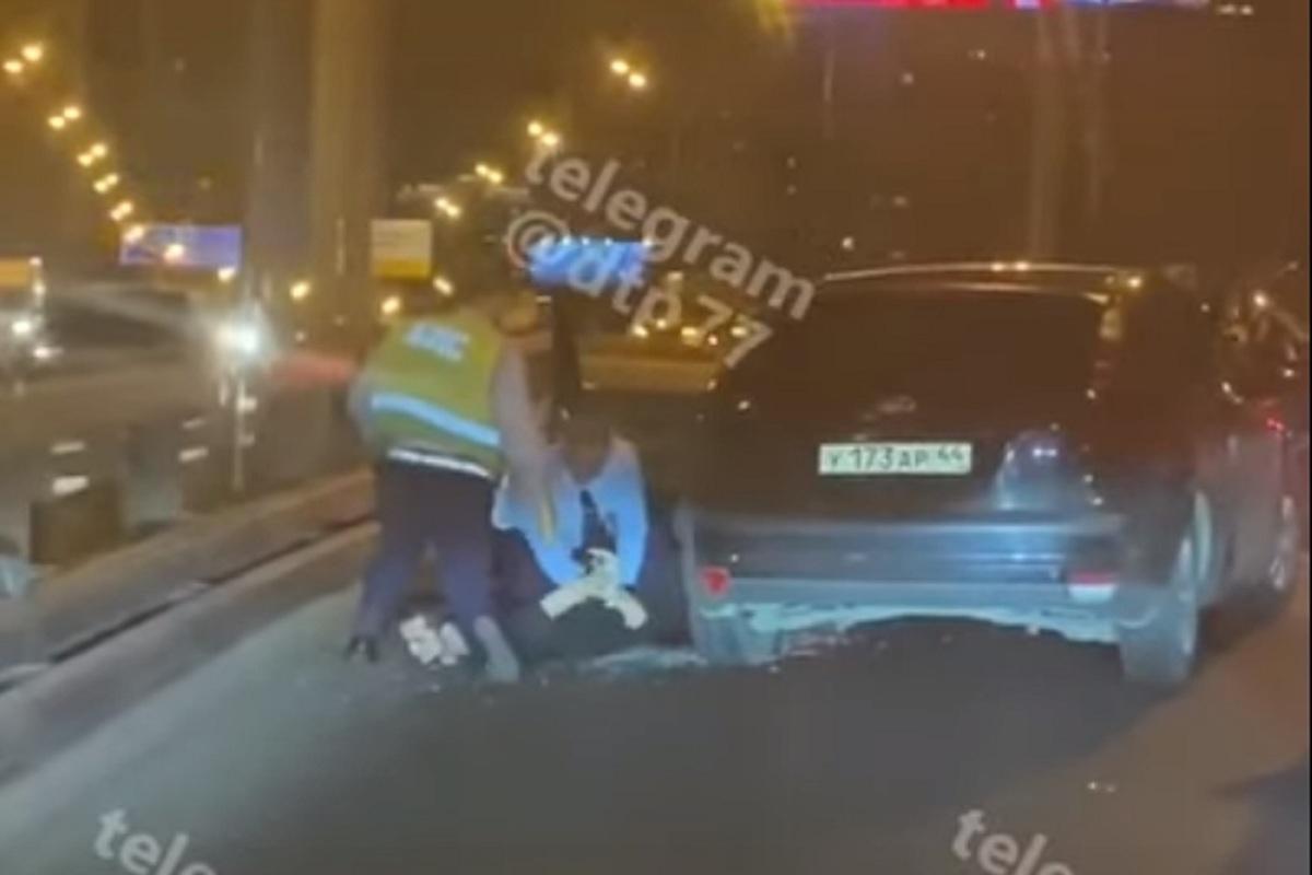 В Москве повязали лихача на автомобиле с костромскими номерами
