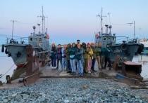 Массовые субботники и экологические мастер-классы: волонтеры «Зеленой Арктики» приехали в Сеяху