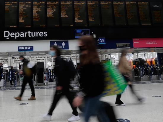 Тест на железнодорожных станциях, проведенный в Британии, обнаружил нулевой COVID-19