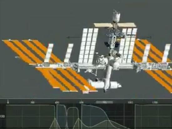 Космическая станция  сделала полтора оборота «через голову» и обратно во время стыковки  с МЛМ «Наука» 29 июля
