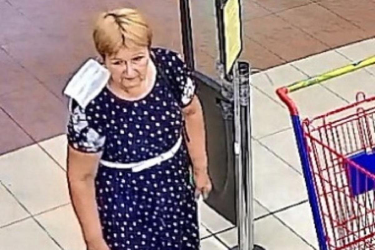 Костромская полиция продолжает разыскивать находчивую даму в синем платье в белый горошек