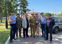 Красноярские десантники отметили день ВДВ 2 августа с соблюдением противоэпидемиологических норм