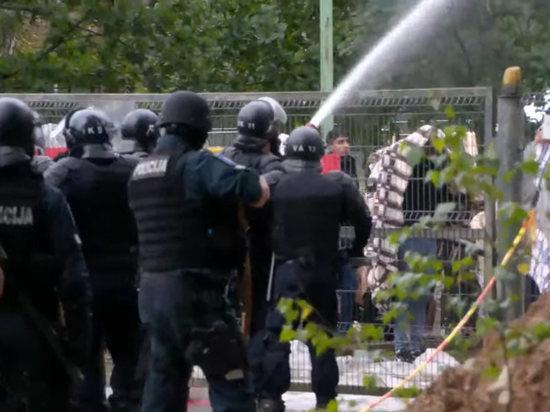 Бунт произошел в лагере незаконных мигрантов в литовском Руднинкае