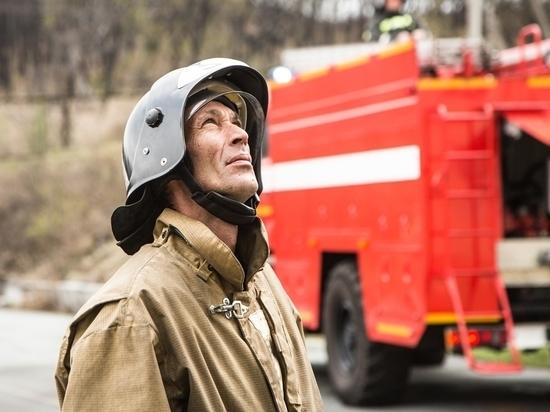 Огонь нанёс незначительные повреждения