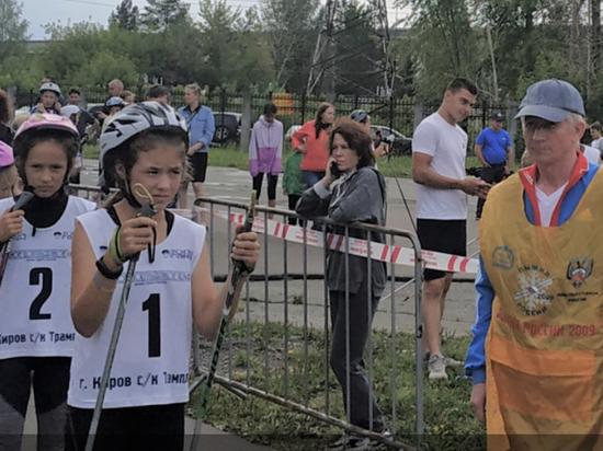 Кировчане стали победителями в соревнованиях по лыжероллерам