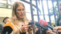 Соболь сама себе зачитала приговор: видео от суда