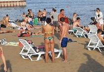 Всего три недели продержался новый пляж в Саратове