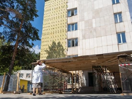 В главной детской больнице Челябинской области идет ремонт